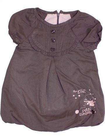 Vestido niña KIMBALOO gris 9 meses invierno #1421666_1
