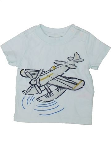 Camiseta de manga corta niño GAP gris 3 meses verano #1421725_1
