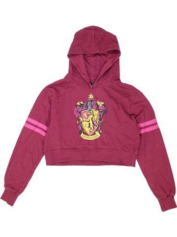 Sweat fille M&CO violet 12 ans hiver #1421967_1