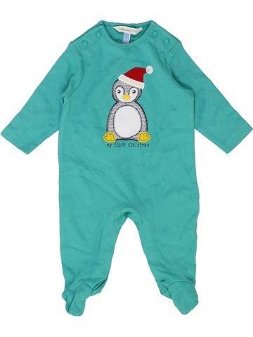 Pijama de 1 pieza niño JOHN LEWIS verde 0 meses verano #1422136_1