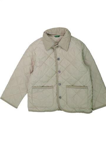 Veste garçon BENETTON gris 4 ans hiver #1422177_1