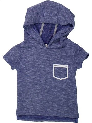 T-shirt manches courtes garçon RIVER ISLAND bleu 3 mois été #1422225_1