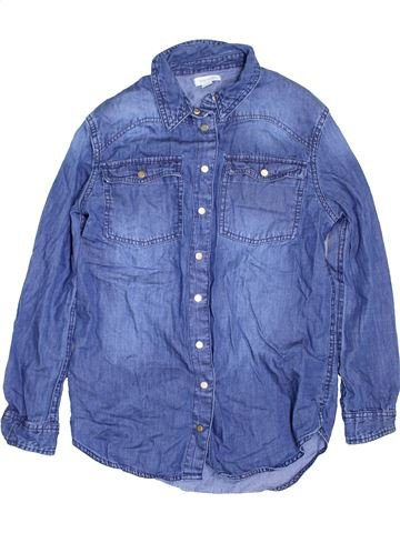 Blouse manches longues fille RIVER ISLAND bleu 10 ans hiver #1422467_1