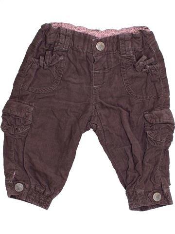 Pantalón niña ZARA violeta 6 meses invierno #1422660_1
