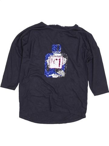 T-shirt manches courtes fille TAMMY bleu 12 ans été #1422743_1