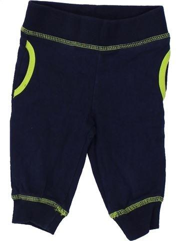 Pantalon garçon IMPIDIMPI noir 6 mois hiver #1422862_1