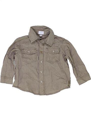Camisa de manga larga niño MEXX marrón 12 meses invierno #1422901_1