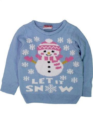 jersey niña SANS MARQUE azul 4 años invierno #1422979_1