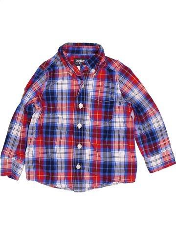 Chemise manches longues garçon OSH KOCH B'GOSH violet 3 ans hiver #1422990_1