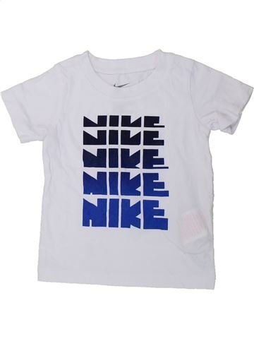 837624bb76 Camiseta de manga corta niño NIKE blanco 18 meses verano  1422992 1