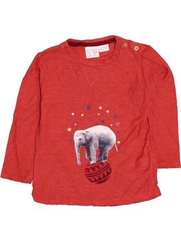 Camiseta de manga larga niño ZARA rojo 2 años invierno #1423077_1