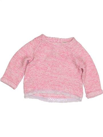 Pull fille RIVER ISLAND rose 12 mois hiver #1423159_1