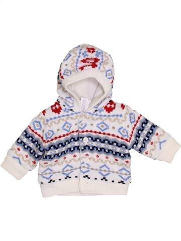 Chaleco niño C&A blanco 1 mes invierno #1423182_1