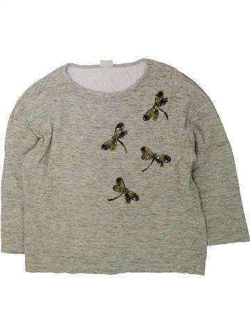 Camiseta de manga larga niña ZARA gris 12 años invierno #1423278_1