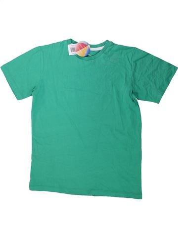 T-shirt manches courtes garçon BOYS vert 10 ans été #1423281_1
