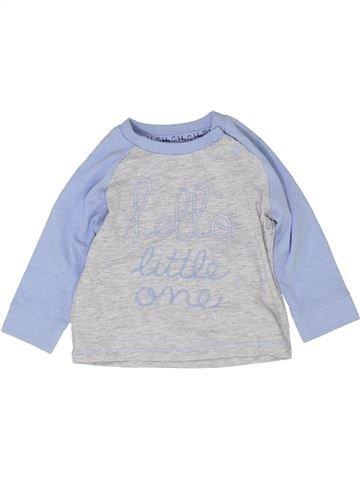 Camiseta de manga larga niño TU gris 6 meses invierno #1423637_1