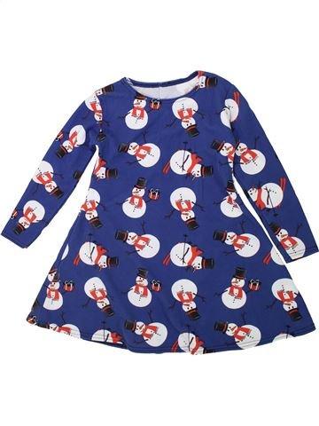 Vestido niña SANS MARQUE azul 6 años invierno #1423649_1