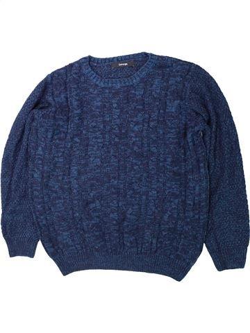jersey niño GEORGE azul 10 años invierno #1423770_1