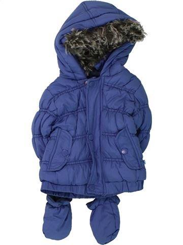 Doudoune garçon BABALUNO bleu 9 mois hiver #1423782_1