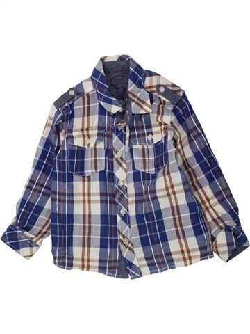 Camisa de manga larga niño SANS MARQUE violeta 3 años invierno #1423836_1