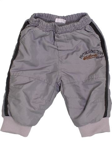 Pantalón niño SANS MARQUE gris 6 meses invierno #1423990_1