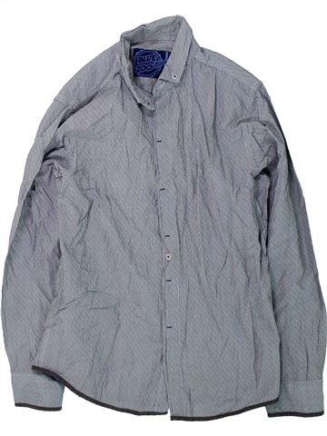 Camisa de manga larga niño DEBENHAMS gris 11 años invierno #1424025_1