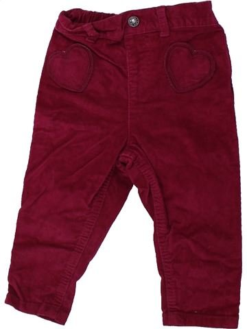Pantalon fille M&CO violet 12 mois hiver #1424061_1