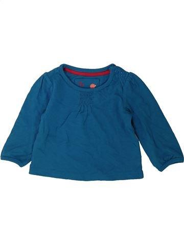 Camiseta de manga larga niña TU azul 1 mes invierno #1424180_1
