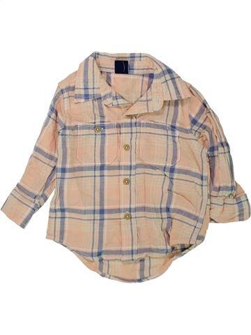 Camisa de manga larga niño GAP beige 18 meses invierno #1424265_1