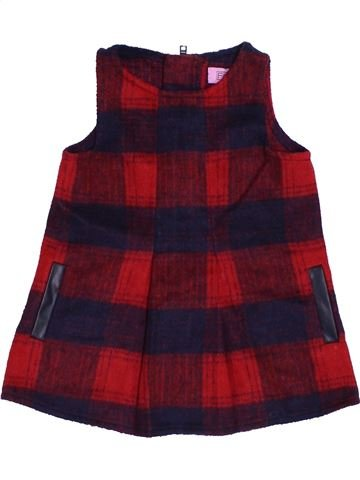Vestido niña F&F marrón 6 meses invierno #1424319_1