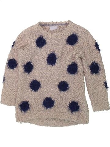 Pull fille I LOVE GIRLSWEAR gris 5 ans hiver #1424331_1