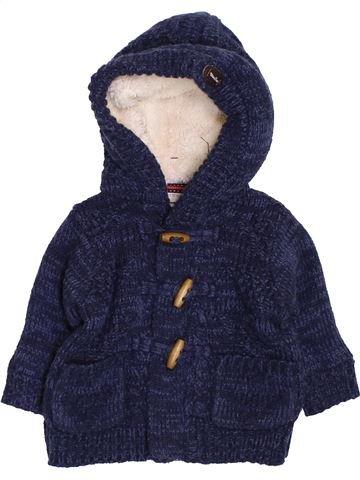 Gilet garçon FAGOTTINO bleu 6 mois hiver #1424390_1