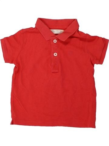 Polo de manga corta niño ZARA rojo 3 años verano #1424461_1