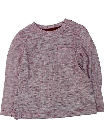 Camiseta de manga larga niño GEORGE gris 4 años invierno #1424506_1