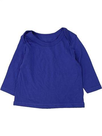 Camiseta de manga larga niño F&F azul 6 meses invierno #1424560_1