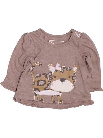 Camiseta de manga larga niña TU rosa 1 mes invierno #1424782_1