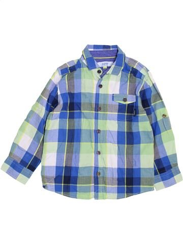Chemise manches longues garçon BAKER bleu 5 ans hiver #1424789_1