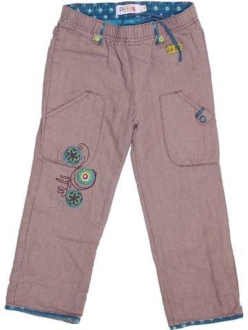Pantalon fille LA COMPAGNIE DES PETITS rose 3 ans hiver #1425114_1