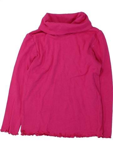 Camiseta de cuello alto niña LUPILU rosa 4 años invierno #1425201_1