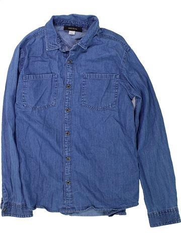 Chemise manches longues garçon RIVER ISLAND bleu 10 ans hiver #1425361_1