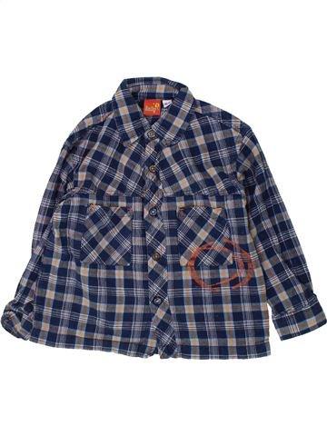Chemise manches longues garçon SMILY bleu 3 ans hiver #1425446_1