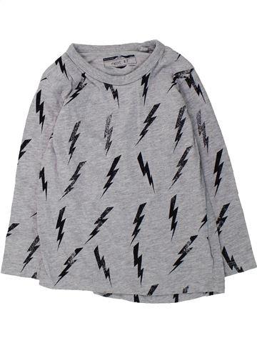 T-shirt manches longues garçon NEXT gris 3 ans hiver #1425522_1