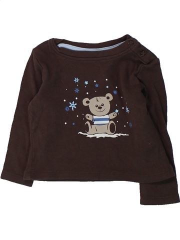 Camiseta de manga larga niño LUPILU marrón 6 meses invierno #1425580_1