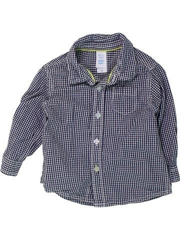 Chemise manches longues garçon C&A bleu 6 mois hiver #1425801_1