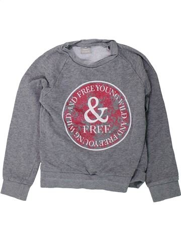 Sweat fille NAME IT gris 10 ans hiver #1425809_1
