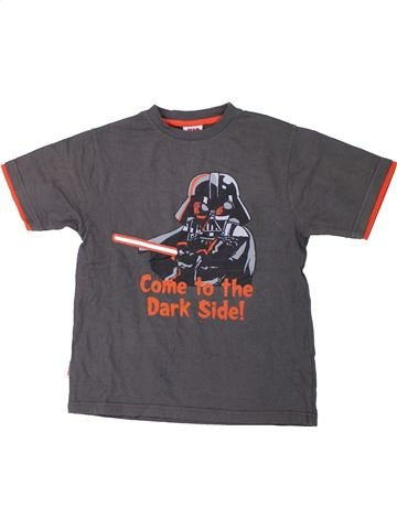 T-shirt manches courtes garçon STAR WARS gris 9 ans été #1426494_1