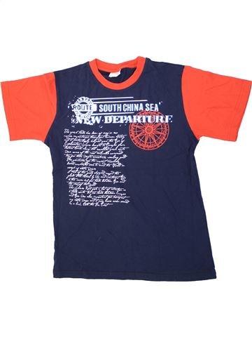 T-shirt manches courtes garçon IN EXTENSO bleu 14 ans été #1426531_1
