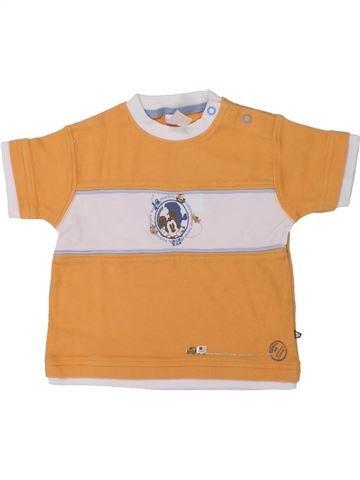 T-shirt manches courtes garçon C&A blanc 18 mois été #1426586_1