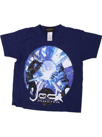 T-shirt manches courtes garçon STAR WARS bleu 4 ans été #1426618_1