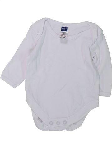 T-shirt manches longues unisexe M&CO blanc naissance hiver #1426649_1